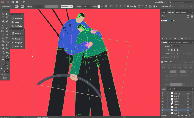 I Switched from Photoshop to Illustrator. Part 1: Reasons and Challenges