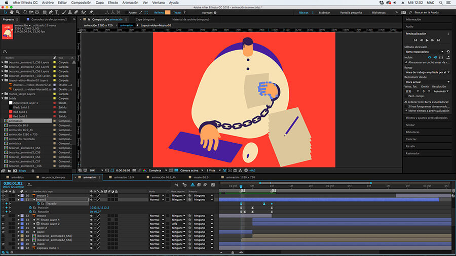 Magoz and Jose Lorenzo Animation in After Effects